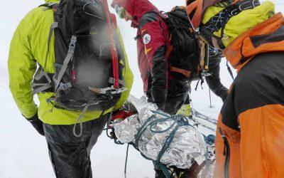 Curso de primeros auxilios en montaña invernal IMMED-A LURTE