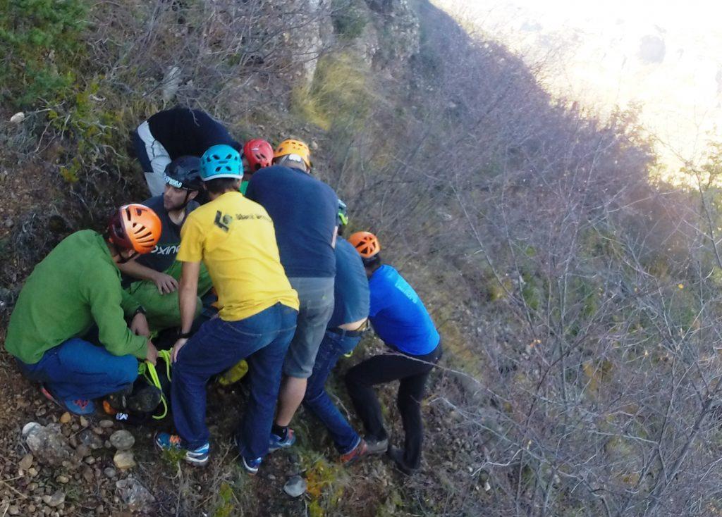 primeros auxilios montaña